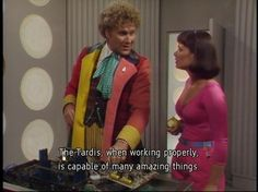 "The Sixth Doctor, aka The Ringmaster. I Ranking The ""Doctor Who"" Doctors By Someone Who Has Never Watched The Show"