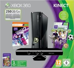 Xbox 360 250GB Console with Kinect Senso...