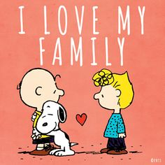 I love my family. And Snoopy. And Charlie Brown & Sally. And all the Peanuts kids. Peanuts Gang, Peanuts Cartoon, Charlie Brown And Snoopy, Nathaniel Brown, Love My Family, My Love, Family Hug, Snoopy Quotes, Peanuts Quotes