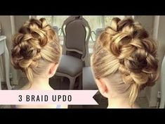The 3D Pull Through Braid by SweetHearts Hair - YouTube