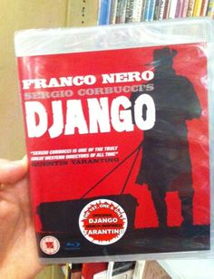 "Our #DVDofTheWeek is ""#Django"" by Sergio #Corbucci with Franco Nero. ""Originally banned in several countries, Sergio ""Corbucci's groundbreaking bloodfest, DJANGO, is one of the greatest #SpaghettiWesterns ever made"". You can find this DVD in #London also at The Italian Bookshop, the only place with the largest collection of Italian #DVD with English subtitles. (Do you like Italian Cinema? Support our ""Italian Docs Online"" #IDO14)"