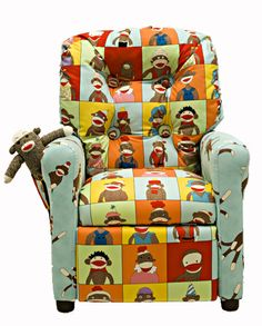 Sock Monkey Chair!