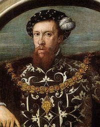 Sir Thomas Wyatt.  I am related to this man.  Yep, a direct descendant of this poet who changed the English language.