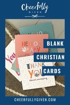 Blank Christian note cards are a handy stash to have ready for unexpected occasions when you need to write Christian thank you notes or need a Christian birthday card at short notice. The Cheerfully Given seller community have a great selection of Scripture cards and other blank note cards for all occasions. | Cheerfully Given – Christian Cards UK Christian Greetings, Christian Greeting Cards, Christian Cards, Christian Birthday Cards, Scripture Cards, Verse, Thank You Notes, Blank Cards, Note Cards