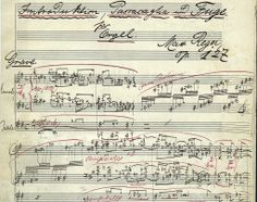 introduction, passacaglia and fugue for organ, op. 127, by max reger