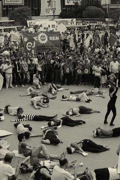 1952′den 2013′e Gezi Parkı fotoğrafları
