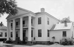 Wellborn, also known as the Dr. Levi Thomas House, Eufaula, Alabama is a  classic Greek Revival mansion, dated from 1839, was the first of its sort to be built in this area. It was moved to its present location from 134 Livingston Avenue. The facade and inside floor plan remain little changed.