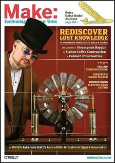 In Volume 17, MAKE Magazine goes really old school with a special section on steampunk, featuring projects that blend Victorian era technology with the cutting edge. Build your own marble adding machi