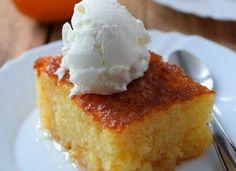 Πορτοκαλόπιτα η τέλεια Greek Sweets, Greek Desserts, Vanilla Cake, Sweet Recipes, Tart, Cheesecake, Deserts, Dessert Recipes, Food And Drink