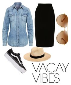 """VACA VIBES❤"" by parisashanti on Polyvore featuring Polo Ralph Lauren, L.K.Bennett, Vans, Tory Burch, Madewell, BeachPlease and vacayoutfit"