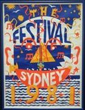 Martin Sharp - The Sydney Festival, 1981, original... on MutualArt.com