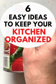 Are you tired of your messy kitchen? check out these quick and cheap ideas to organize with these kitchen ideas. These kitchen organization hack tips can be made in a day and with easy find dollar store items. Messy Kitchen, Diy Kitchen, Kitchen Ideas, Kitchen Hacks, Spice Storage, Diy Storage, Storage Ideas, Kitchen Organisation Hacks, Magnetic Spice Racks