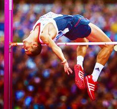 london 2012 » team GB  Robert Brabarz for high jump  BRONZE MEDALIST