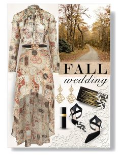 """""""on our way"""" by collagette ❤ liked on Polyvore featuring Nina, French Connection, Amrita Singh, River Island, MANGO and fallwedding"""