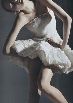 Random Beauty - Lily Donaldson by Mario Sorrenti for V #41, Summer...