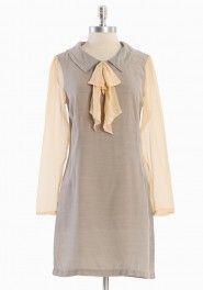 Lasalle Terrace Dress in Gray by 8000 Nerves