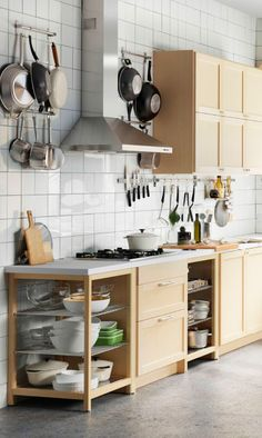 Our new IKEA SEKTION kitchen system will help you organize and store everything you need so you can focus on creating great recipes.