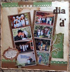 Sula Damasio. Minha página para a Fórmula do Scrap de Set-2012 no creativescrappers.com.br