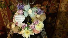 Jarny veniec Hydrangea, Floral Wreath, New Homes, Wreaths, Design, Home Decor, Life, Deko, Decoration Home