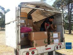 Entrega de medicamento, comunidad LAS PRESAS, San Felipe del Progreso EDOMEX
