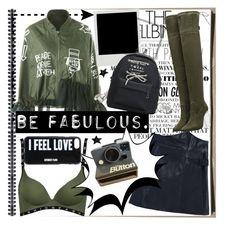 """""""Spill the words,fashion storms!"""" by jelena-bozovic-1 ❤ liked on Polyvore featuring Gwyneth Shoes, Givenchy and Polaroid"""