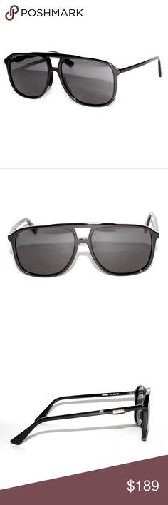 64d9509c2 Gucci-GG0262SA-001-60-15-Black-Pilot-Sunglasses Brand