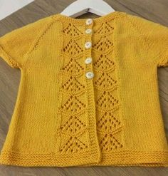 Source by hobilerimveben Baby Knitting Patterns, Love Knitting, Knitting For Kids, Crochet For Kids, Crochet Pattern, Baby Girl Cardigans, Baby Cardigan, Baby Sweaters, Cardigans For Women