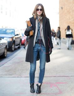 New York Fashion Week Autumn Winter 2013 Street Style | ELLE UK