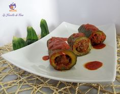 oggi #zucchine #ripiene al sugo di pomodoro, la #ricetta della nonna Licia ^_^ #lericettedibea http://blog.giallozafferano.it/lericettedibea/zucchine-ripiene-al-sugo/