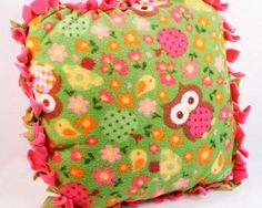 Kids' No Sew Fleece Pillow