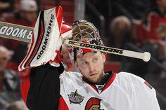 Craig Anderson of the Ottawa Senators