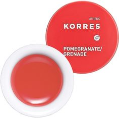 Korres Lip Butter in Pomegranate. Beat the Winter chill by stocking up on these beautiful tinted lip balms!