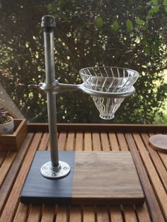 Pour Over Coffee Stand Industrial//Two von MaderaSupplyCompany