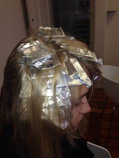 Half head foils