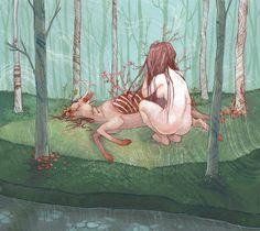 Chelsea Greene Lewyta - 2008 Selection of Illustrations - 2008 Selection of Illustrations on the Behance Network