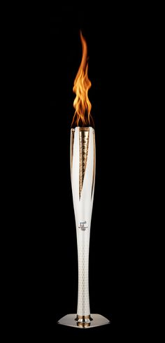 PyeongChang 2018 Olympic Torch on Behance Fire Torch, Olympic Flame, Flame Design, Modern Games, Olympic Medals, Olympic Weightlifting, Winter Palace, Going For Gold, Olympic Athletes
