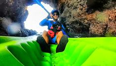 Guests experience an adventure while visiting Santa Cruz Island in Channel Islands National Park! Adventure Movies, Adventure Time, Adventure Travel, Santa Cruz Island, Adventure Company, Channel Islands National Park, Kayaking Tips, California Destinations, Visit Santa