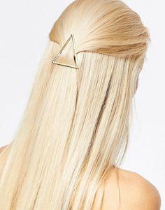 Designsix | Designsix Geo Triangle Hair Clip at ASOS