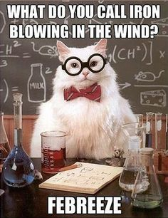 Iron blowing in the wind…