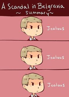 *jealous*