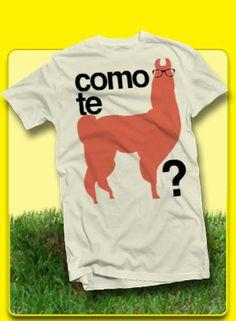 Como Te Llama TShirt by SapoMiami on Etsy, $19.99