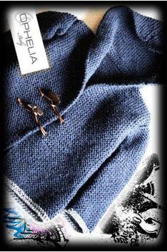 Cappottinio ai ferri per bimbi - Ophelia Italy - Baby Knitting Patterns, Crochet Patterns, Knitted Coat, Free Crochet, Google Translate, Christmas Tree, Display, Children, Ideas