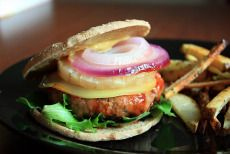 bbq and pineapple turkey burgers « keep it skinny