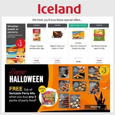 Iceland Offers 26th October - 16th November 2016 - http://www.olcatalogue.co.uk/iceland/iceland-offers.html