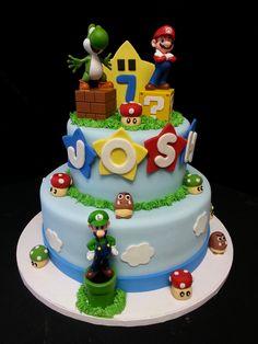 Cookie Jar Bakeshop I Custom Cakes I Birthday Cake I Super Mario Themed Birthday Cake I Juvenile Birthday Cake