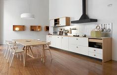 the kitchen system is an exercise in detail and finishes, seen through the broad range of different materials and compositions inspired by various cultures.