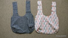 Making reversible bag   par verypurpleperson