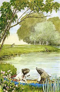 From Bank to Riverbank: Kenneth Grahame and The Wind in the Willows