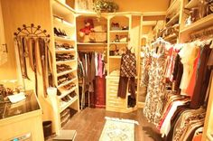 Soon enough my closet will resemble this! LOVE IT!