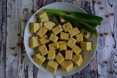 """""""tofu"""" de grão de bico"""